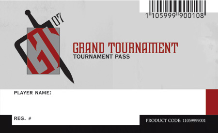 Grand Tournament 2007 Ticket