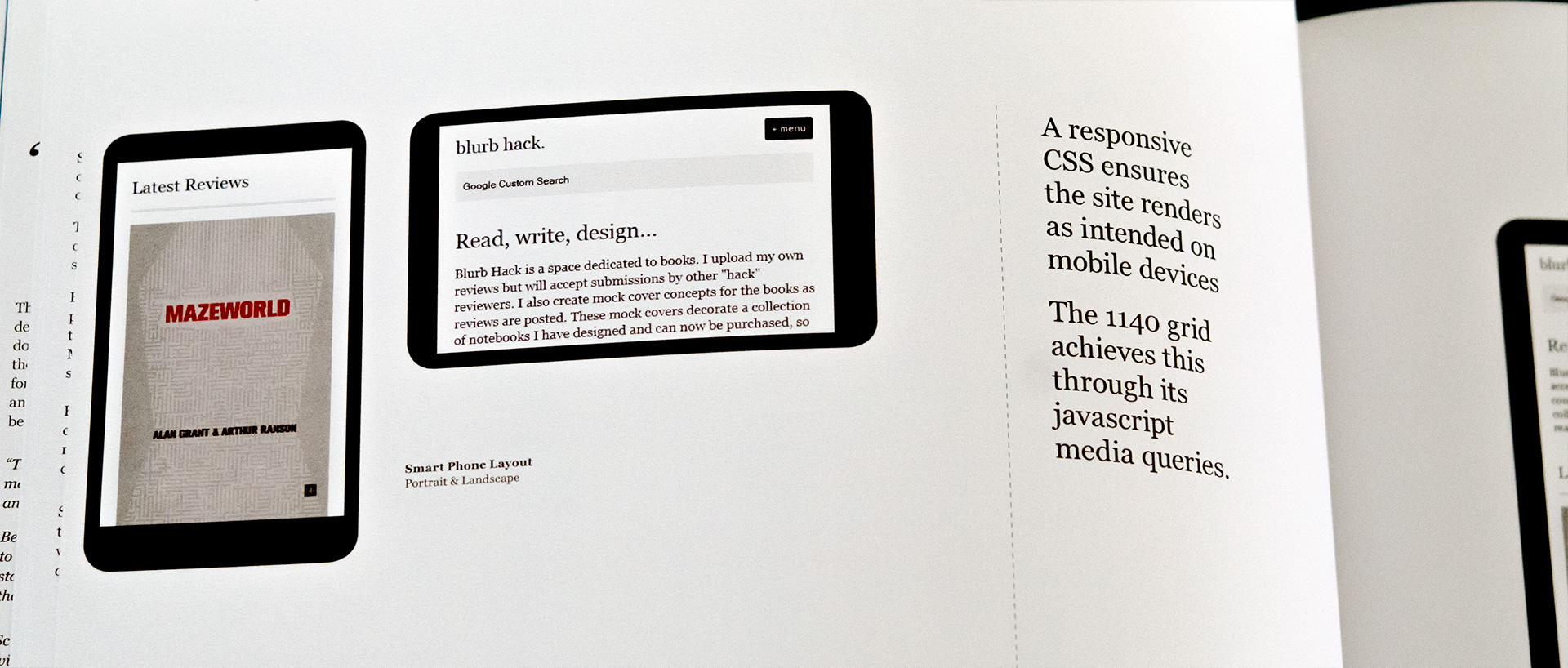 The Blurb Hack Book Layout 2012